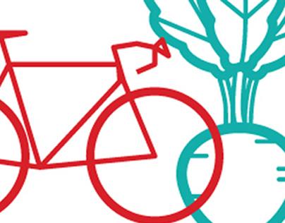 Artist Designed Bike Rack