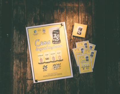Poster & Print Design for Al Belvedere Restaurant