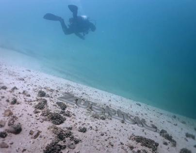 3D Underwater Logo