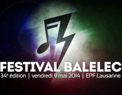 Festival Balélec 2014
