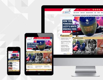 UK Sport responsive site pitch concept