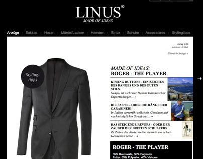 Website: LINUS - Made of ideas