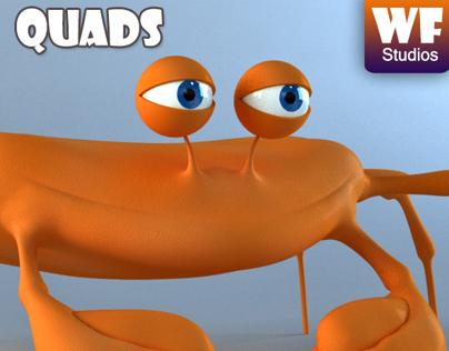 Cartoon Crab Model - For Sale