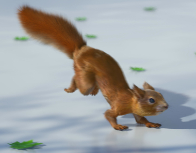 Bank of Ireland - Squirrels