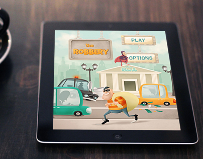 iOS Game - The Robbery