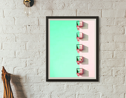 "Art Direction ""wall frame"""