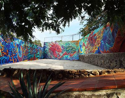 "Mural / Quinta ""El Amate"""