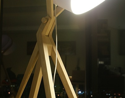 Devant Freestanding Lamp Design