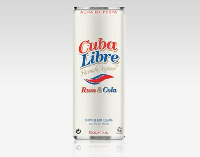 Lata Cuba Libre