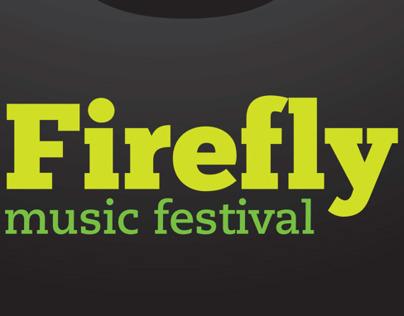 Firefly Music Festival Poster & T-shirt on Behance