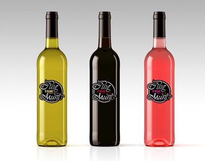 Etiquetas vino Puigmunts