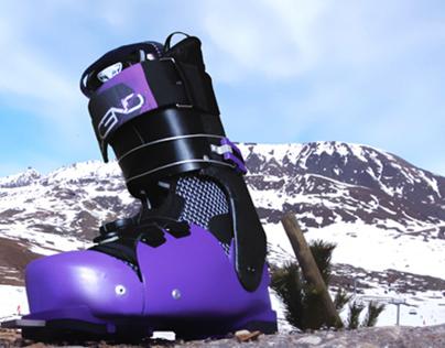 Ascend Concept Ski Boot Design