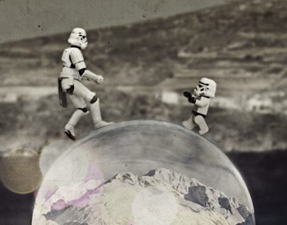Troopers on a bubble