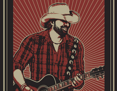Toby Keith Illustrations