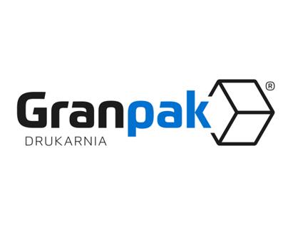 Logo dla DRUKARNI GRANPAK