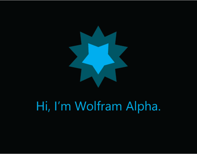 Cortana's Wolfram Alpha Integration