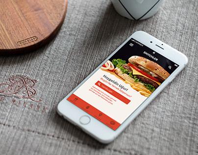 Snitch - App Design