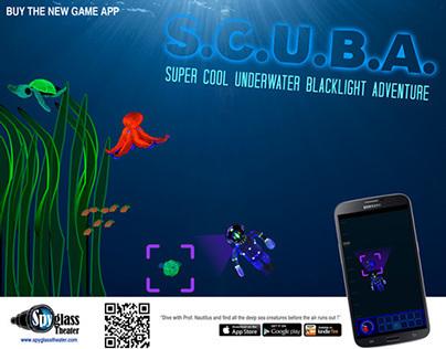 """Game App: """"SCUBA with Prof. Nautilus"""""""