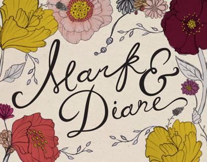 Mark & Diane | Wedding Invitation