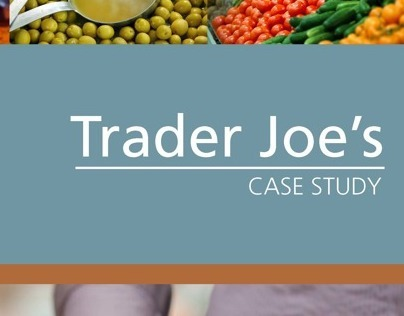 trader joe case study essay Trader joe s the case describes the business practices for trader joe s and how they reinvented themselves, by setting themselves apart from the 7- eleven.