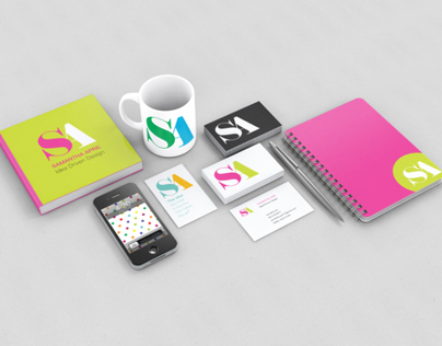 Samantha April Logo & Branding