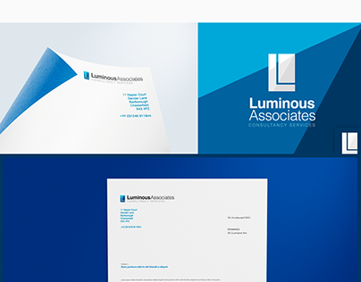 Luminous Associates Brand Identity and Logo Design
