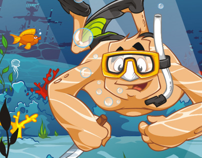 Brock. Sea Holidays. Diving