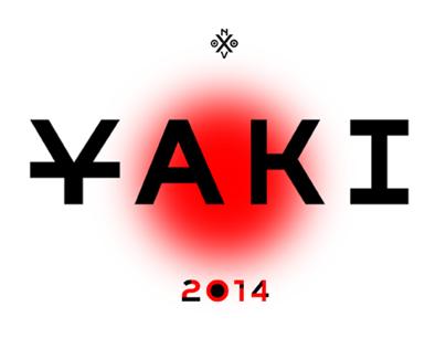 Novo Typo's typeface Y A K I