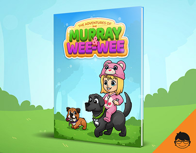 Adventures of Murray & Wee-wee book illustration