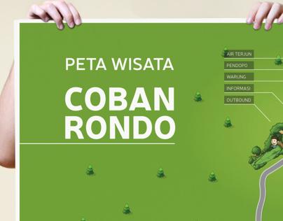 Coban Rondo Waterfall field map