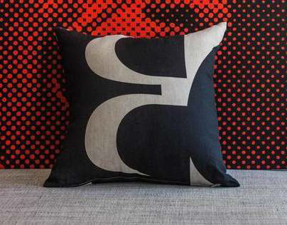 Type Pillows by youtalkingtome.com