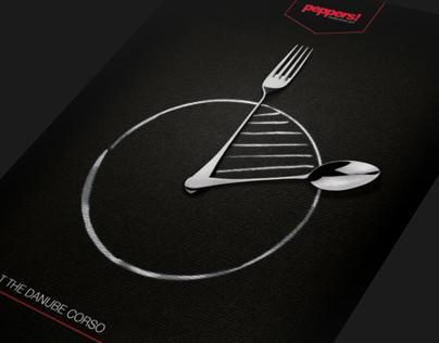 peppers! - restaurant rebranding