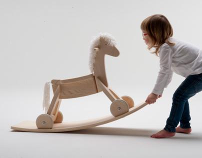 Rocking horse: Julika
