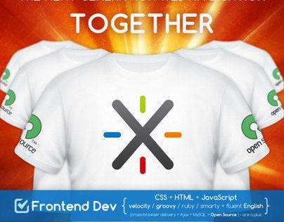 XWiki Recruitment poster | 2012