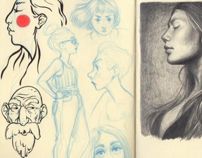 Sketchbook 2014 Part I