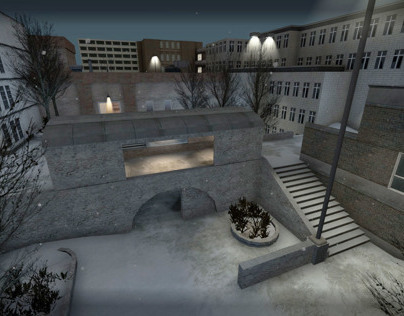 Source Engine: Complex, Counter Strike Map