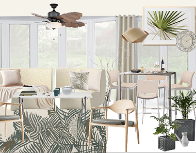 Sunroom Project: Tropical, Sunny & Sophisticated