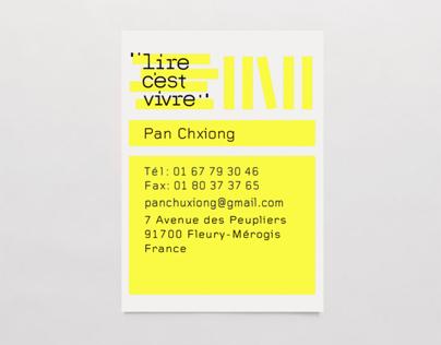 identity for lire c'est vivre