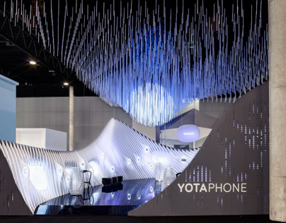 YOTA DEVICES PAVILION, MOBILE WORLD CONGRESS, 2014