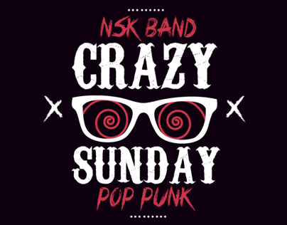 Intro for band «Crazy Sunday»