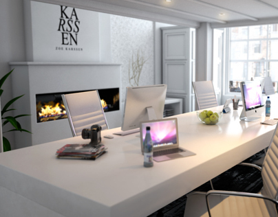 Zoe Karssen office visuals