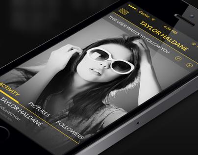 Selfietext App