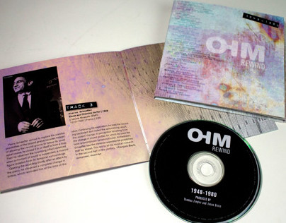 OHM Rewind Music Packaging