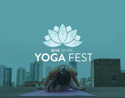 Yoga Fest Event Branding