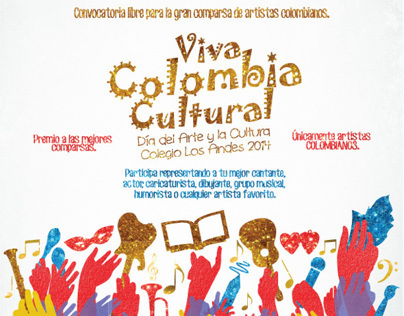 Poster Viva Colombia Cultural
