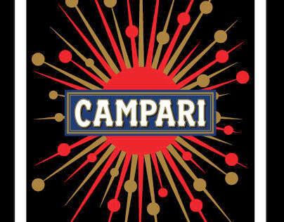 Graphic Design - Campari game card