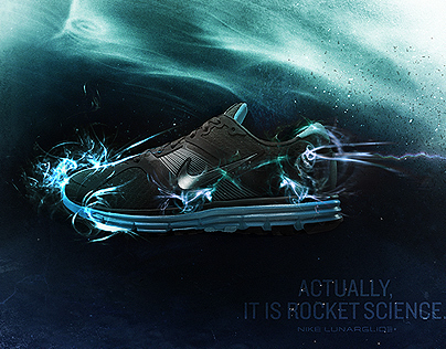 Nike Lunar Glide Poster (not official)