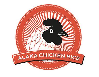 Alaka Chicken Rice Branding