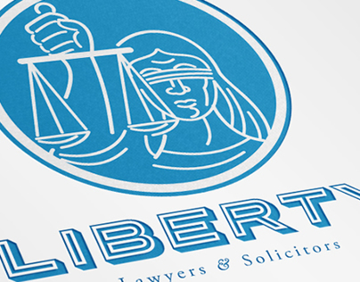 Liberty Lawyers Logo Template