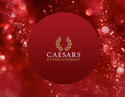 Caesars Entertainment Website Concepts
